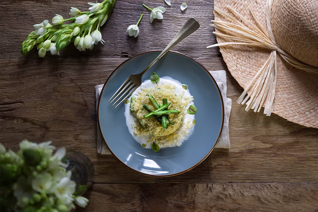 ricette cous cous con asparagi