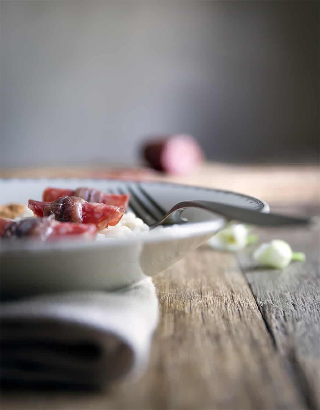 ricetta con salame cacciatorino
