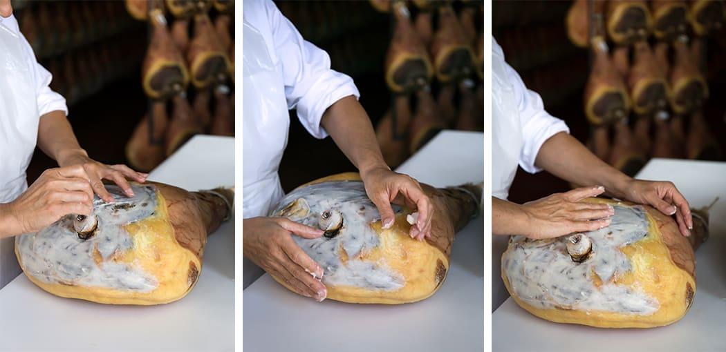 la segnatura del prosciutto di Parma