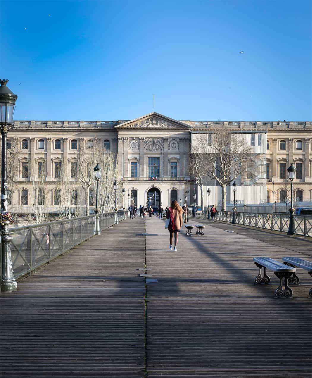 il ponte des Arts Parigi