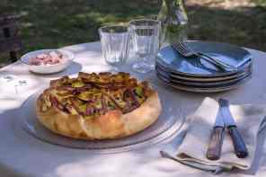 ricette torte salate con mortadella