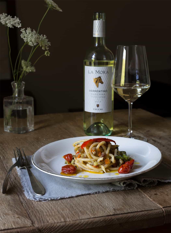 ricette spaghetti con ragù di verdure