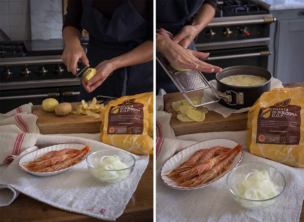 ricette con patata Bologna dop