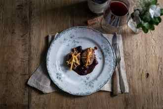 ricetta filetto di maiale con uva caramellata