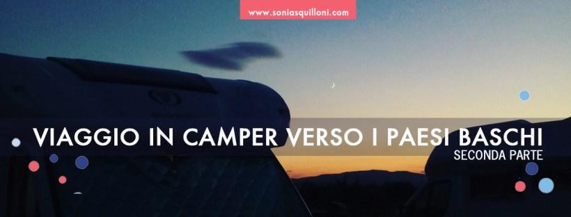 Viaggio in camper verso i paesi baschi