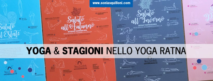 le sequenze yoga di saluto alle stagioni