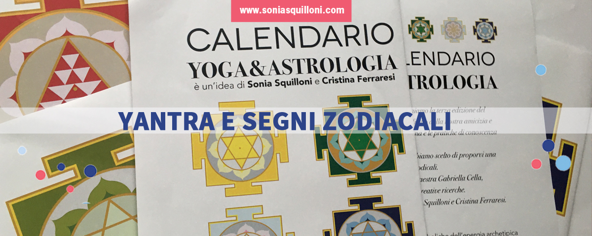 Yantra e segni zodiacali per il nuovo Calendario 2020