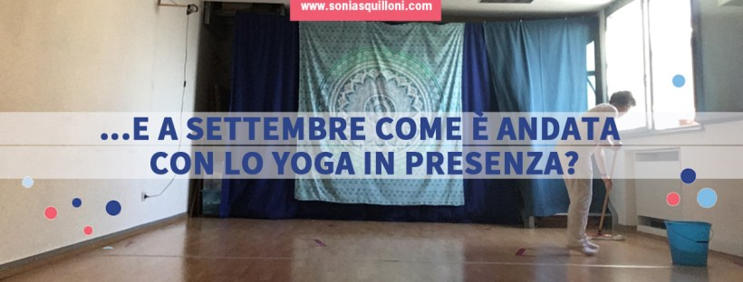 yoga in presenza post covid