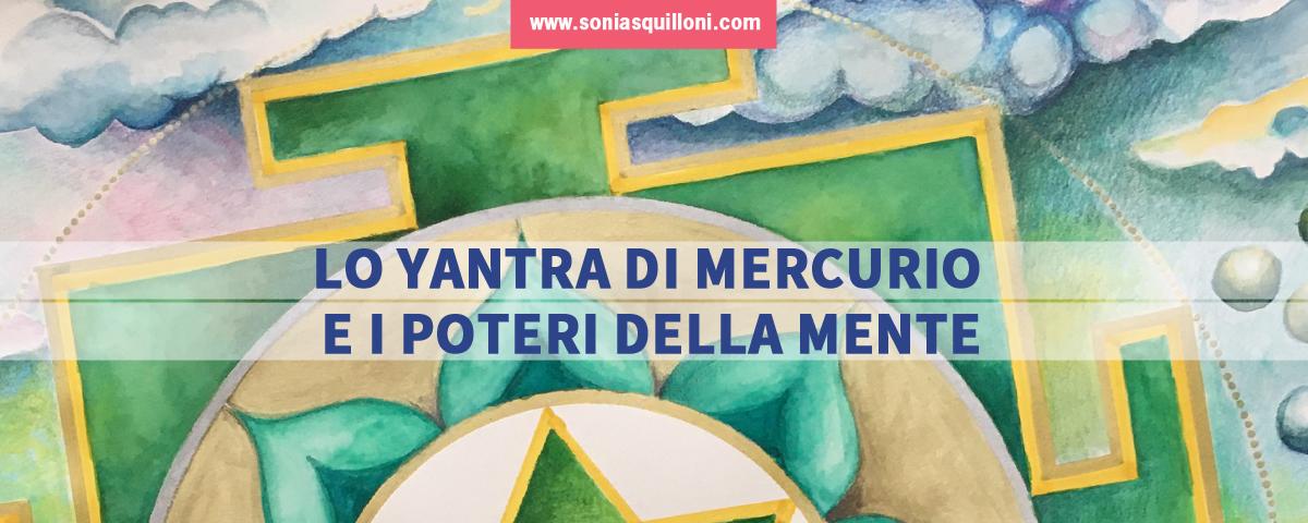 Yantra di Mercurio, messaggero degli Dei