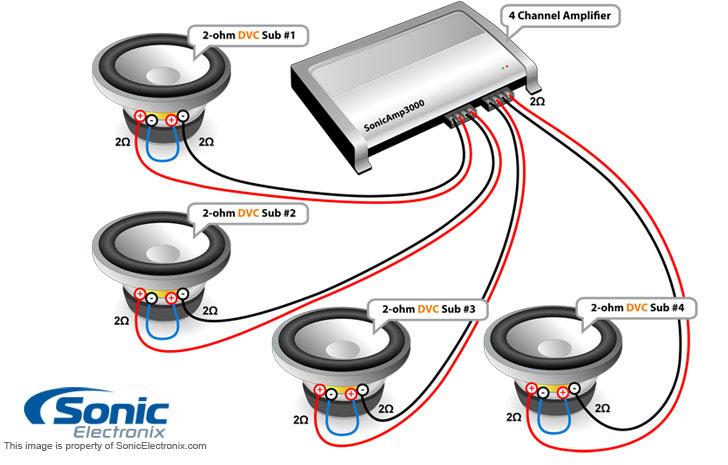 1 Ohm Wiring Diagram Nilzanet – 1 Ohm Wiring Diagram