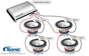 2 Ohm Speaker Wiring Diagrams