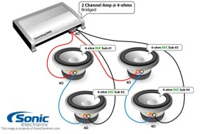 Subwoofer Wiring Diagrams | Sonic Electronix