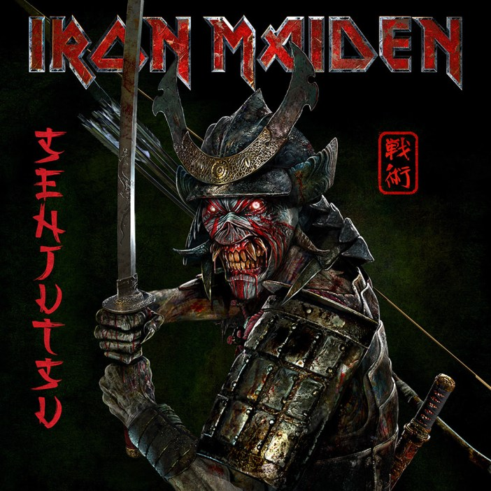 "IRON MAIDEN Reveal Title, Artwork and Tracklist of Upcoming New Album "" Senjutsu"""