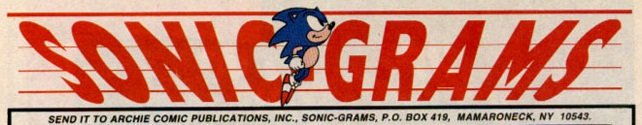 Sonic Grams