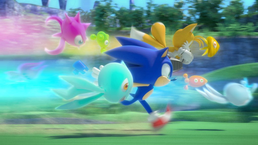 Sonic Colours wisps