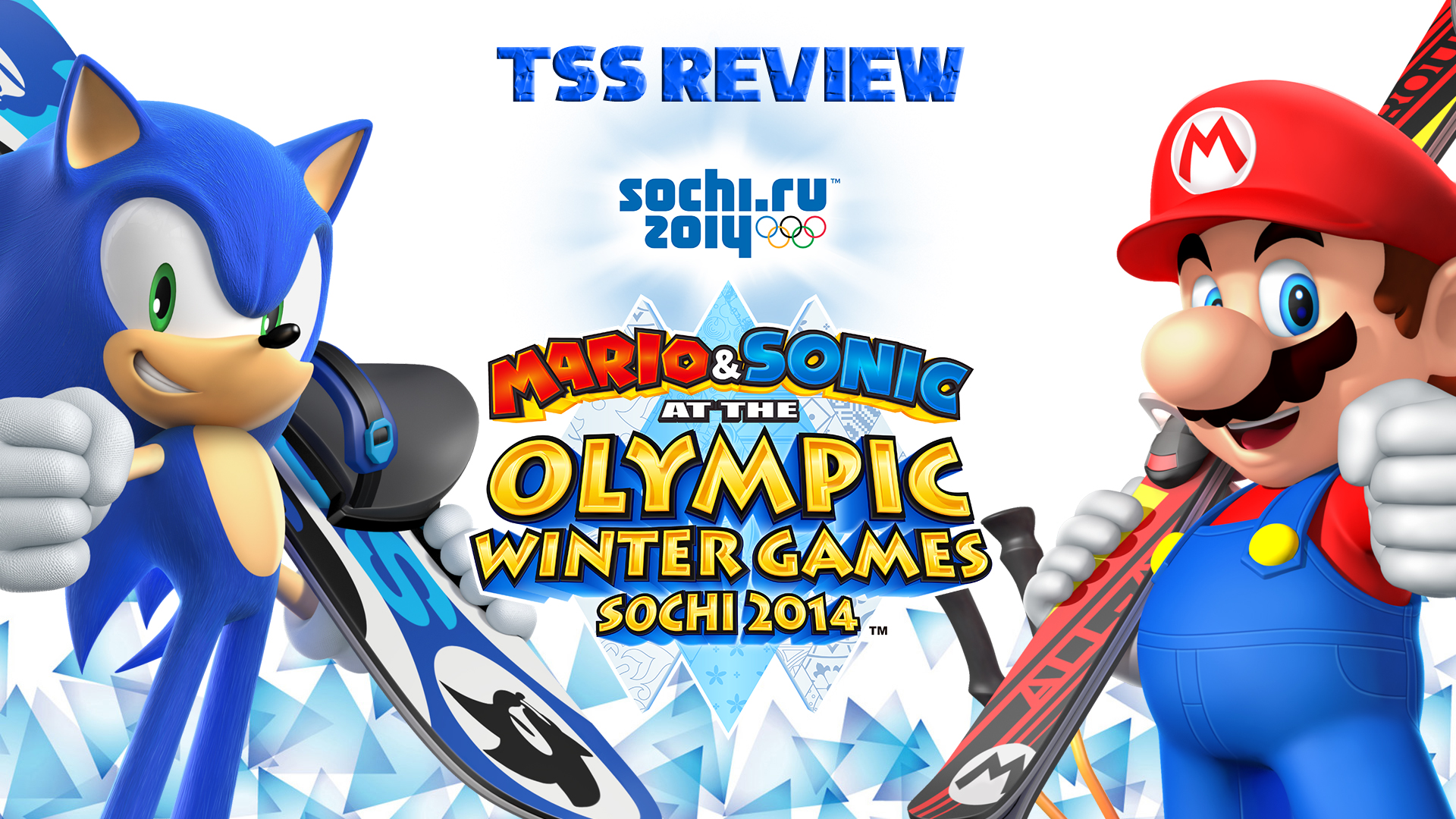 Tss Review Mario Amp Sonic At The Sochi Olympic Winter