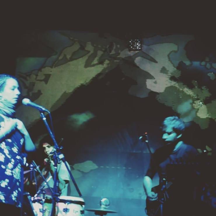 Ensamble Peripecia tocando en vivo en Argentina