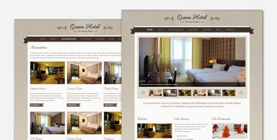 queen hotel wordpress theme