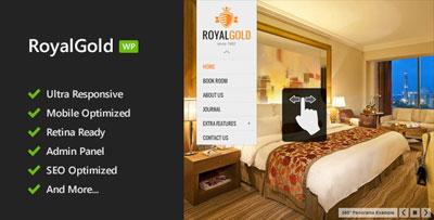 royalgold tarvel wordpress theme