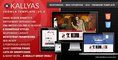 Kallyas - Responsive Multi-purpose Joomla Template