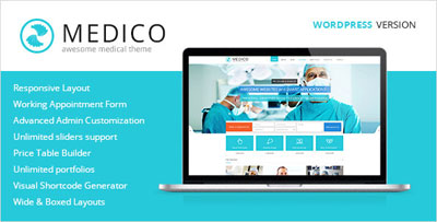 Medico - Medical and Health WordPress Theme