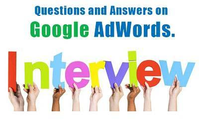 adwords ppc interview question answer