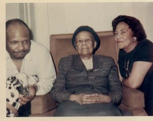 CROPPED PIC Isadore, Chaney & Marie 1960s