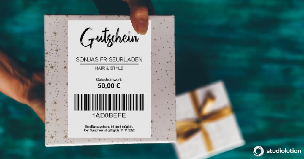 Geschenkgutschein - Sonjas Friseurladen