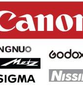 canon flitser LCD scherm