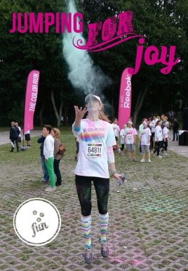 color run - jump for joy