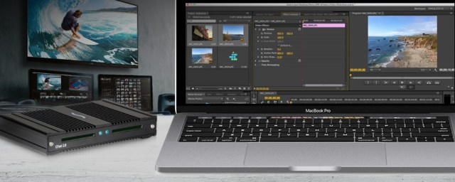CFast 2.0 Pro Card Reader with MacBook Pro (Thunderbolt 3)
