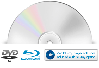 Optical DVD or Blu-Ray Disc