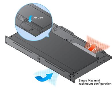 rackmac mini 1u rack enclosure for mac
