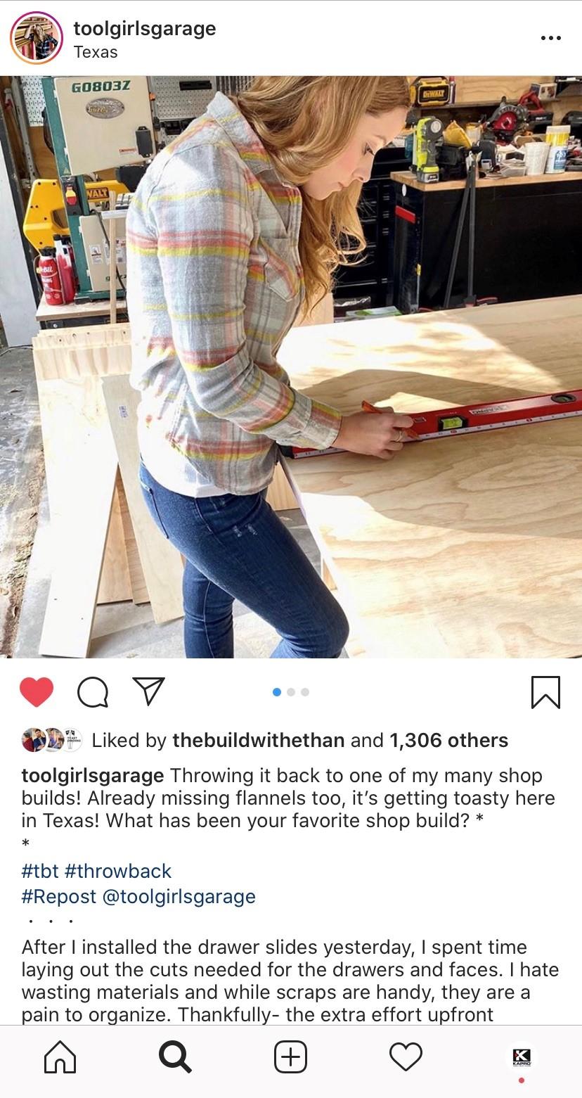 Tool Girls Garage KAPRO