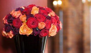 Hotel Du Vin corporate flower arrangement