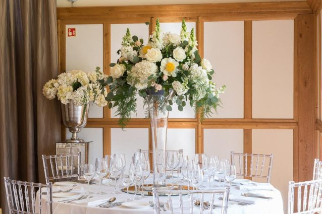 Tall Table Centres Silchester House