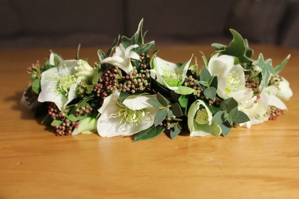 hellebores flower crown
