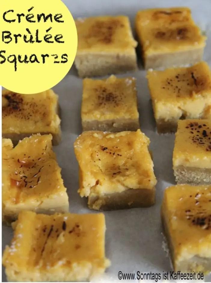 Créme Brùlée Squares Rezept