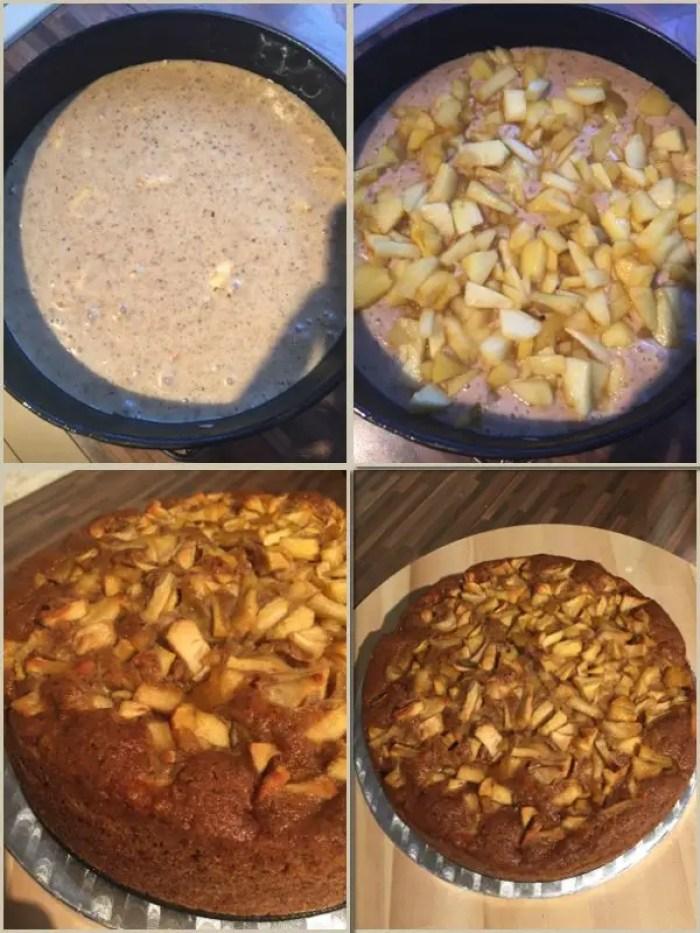 Apfel-Lebkuchen-Torte | Backen mit Mineralwasser von Rheinfels Quelle