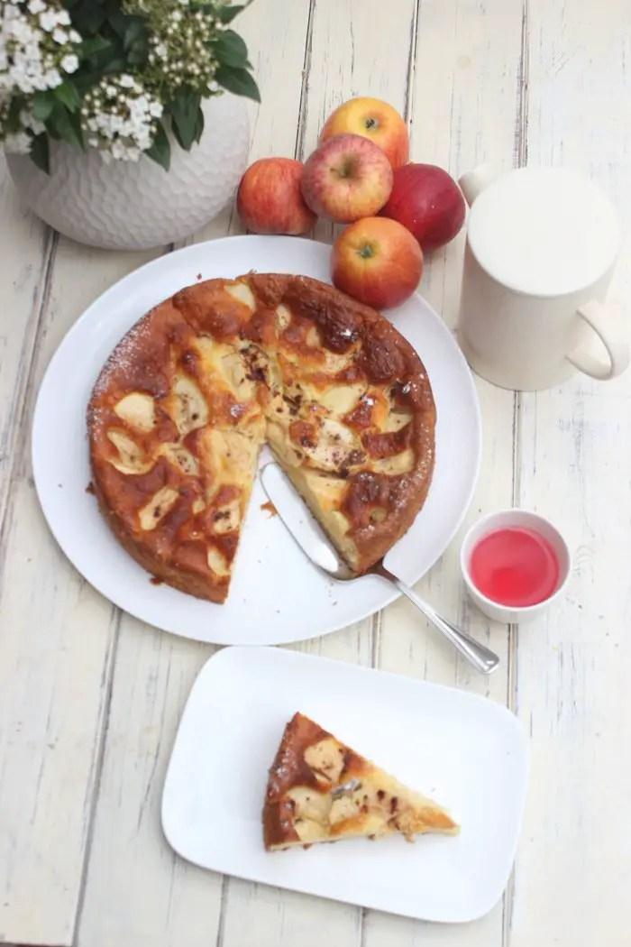 Apfelkuchen mit Skyr - Saftig, einfach und schnell