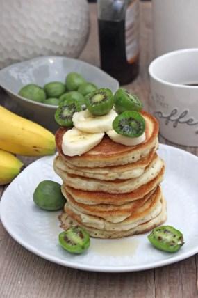 Bananen-Protein- Pancakes