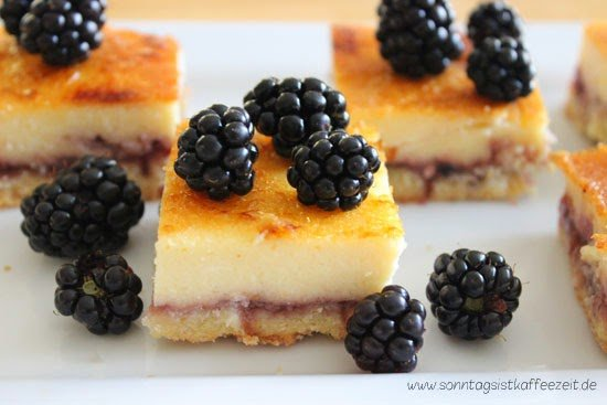 Berry Lemon Cheesecake Squares Rezept