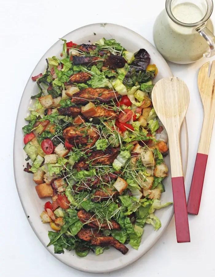 Caesar Salad a la Jamie Oliver - Aus 15 Minuten Küche