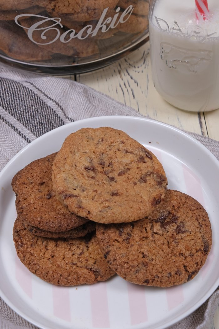 Cookies mit Schokoladenstücke Rezept