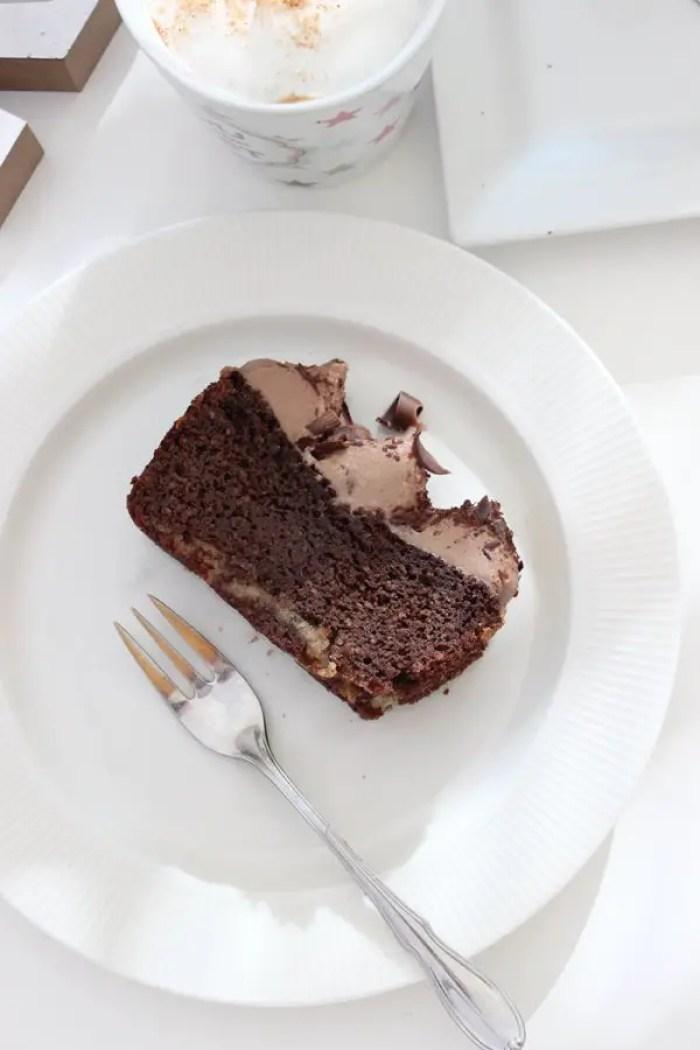 Low Carb Double Chocolate Cake für alle Schokoladenfans