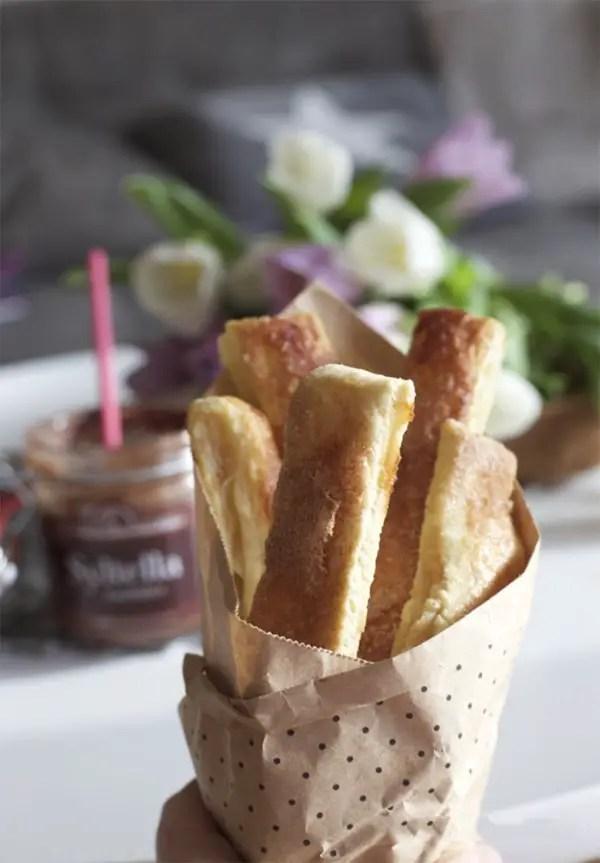 Easy-peasy Birnen Pie-Sticks Rezept