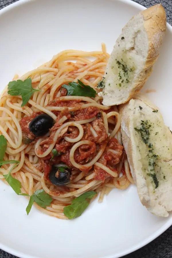 Jamie Oliver 30 Minuten – Spaghetti alla Puttanesca