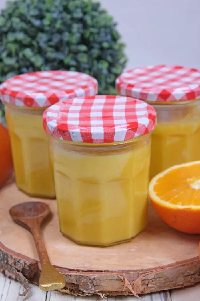 Mandelschnitten mit Orange Curd - Süss und himmlisch!