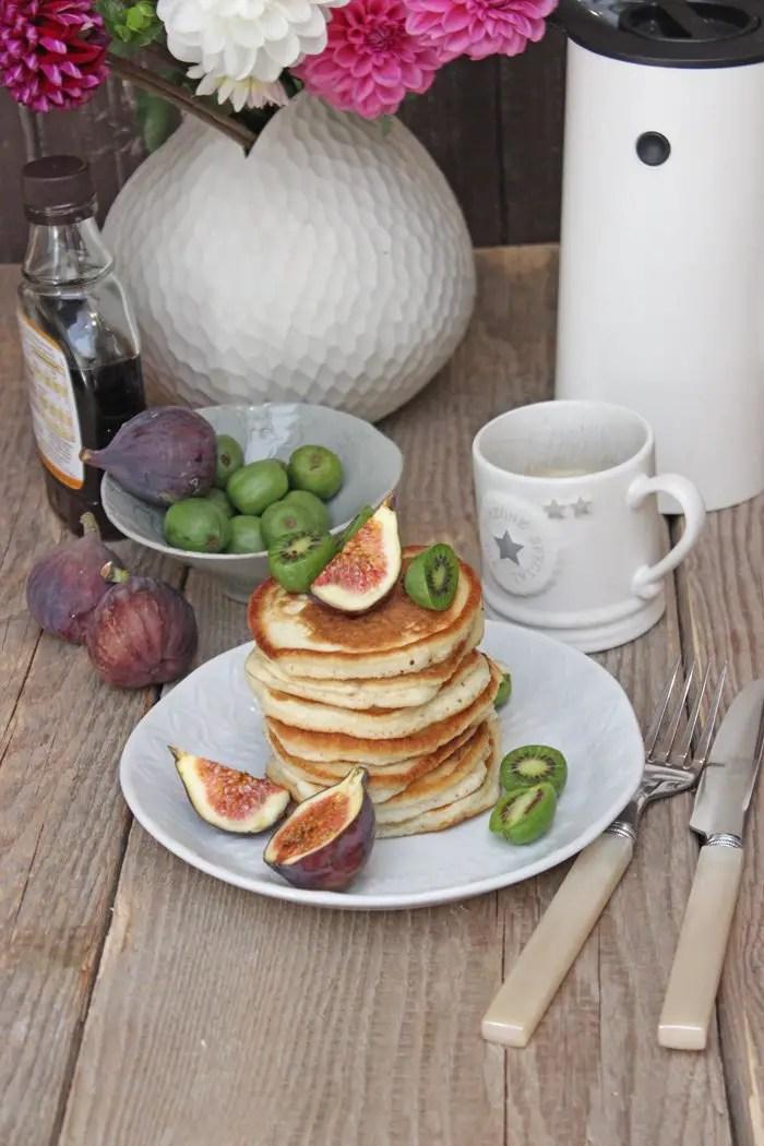 Pancakes auf klassische Art