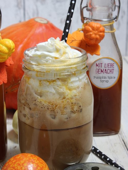 Pumpkin Spice Sirup – Pumpkin Spice Latte